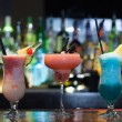 Stock Photo: Close up on mouth watering cocktails