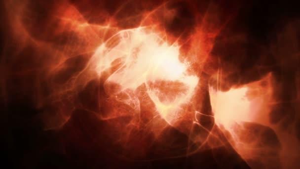 Abstact naranja y negro — Vídeo de stock