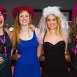 Smiling friends having hen party — Stock Photo