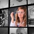 Stock Video: Three short clips about lab assistants in labor