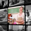 Three short clips about school — Video Stock #33430449
