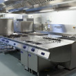 图库照片: Picture of restaurant kitchen