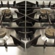 Stock Photo: Picture of gas stove