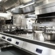 Stock Photo: Work surface and kitchen equipment