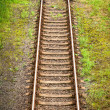 Stock Photo: Railway track