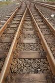 铁路轨道 — 图库照片