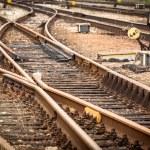 Railway tracks — Stock Photo