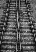 Järnvägsspår — Stockfoto