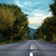 Open road background — Stock Photo #38454203