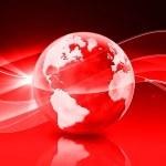 fundo global de tecnologia — Foto Stock