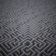 Difficult maze puzzle — Stock Photo #38454555