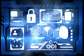Security interface — Stock Photo