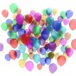 Colourful balloons — Stock Photo