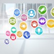 Computing application icons — Stock Photo #38461253
