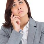 Worried businesswoman — Stock Photo