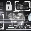 Stockfoto: Security interface