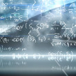 Stock Photo: Math equation background