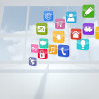 Computing application icons — Stock Photo #38464471
