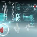Medical interface — Stock Photo