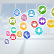 Computing application icons — Stock Photo #38466213