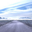 Stock Photo: Road leading out to horizon