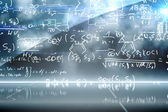 Math equation background — Stock Photo