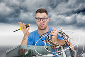 Confused it professional — Stock Photo