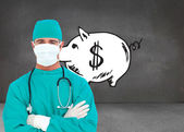 Portrait of an ambitious surgeon — Stock Photo
