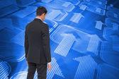 Composite image of asian businessman — Foto Stock