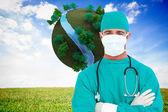 Ambitious surgeon — Stock Photo