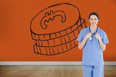 Medical intern — Stock Photo