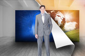 Charismatic businessman — Stock Photo