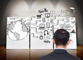 Composite image of asian businessman — Foto de Stock