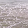 Stock Video: Choppy grey sea