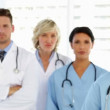 Serious medical team — Video Stock #39160649