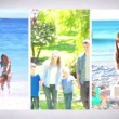 Stock Video: Family holidays montage