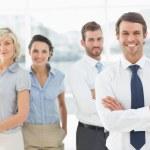 Portrait of a confident smiling business team — Stock Photo #39189885