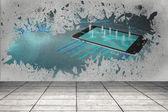 Splash showing global business — Foto Stock