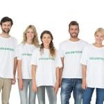 Group portrait of happy volunteers — Stock Photo #39196735
