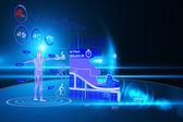 Medical interface — Стоковое фото
