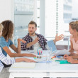 Young design team having a meeting together — Stock Photo #42915831