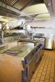 Keuken in het restaurant — Stockfoto