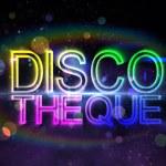 Digital discotheque text — Stock Photo #42920811