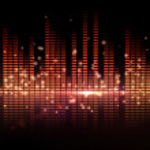 Digital disco design — Stock Photo