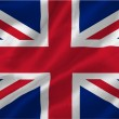 great britian flag — Stock Photo