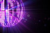 Cool disco ball design  — Stock Photo