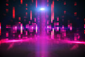 Generato digitalmente sfondo discoteca — Photo