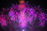 Digitally generated firework design — Stock Photo
