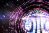 Digitally generated disco ball — Stock Photo