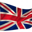 Great britain flag — Stock Photo #42932357